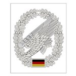 West German Paratrooper Small Poster