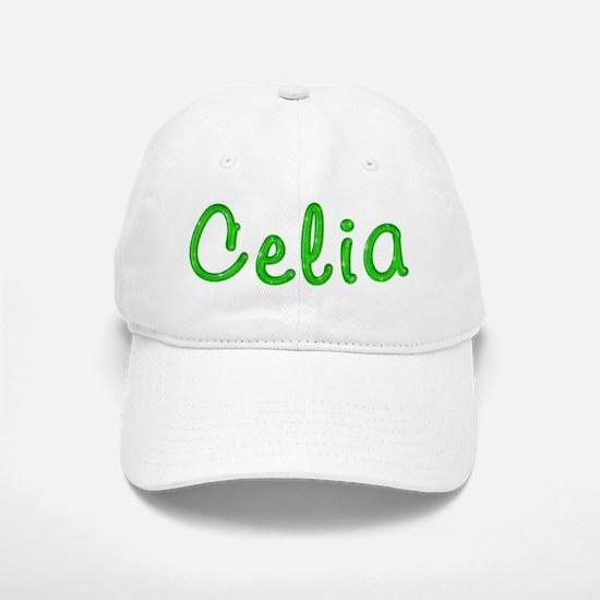 Celia Glitter Gel Baseball Baseball Cap