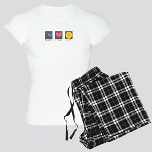 Peace. Love. Lift. Women's Light Pajamas