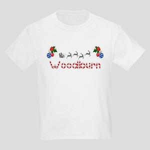 Woodburn, Christmas Kids Light T-Shirt