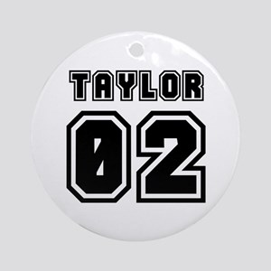 TAYLOR JERSEY 00 Ornament (Round)
