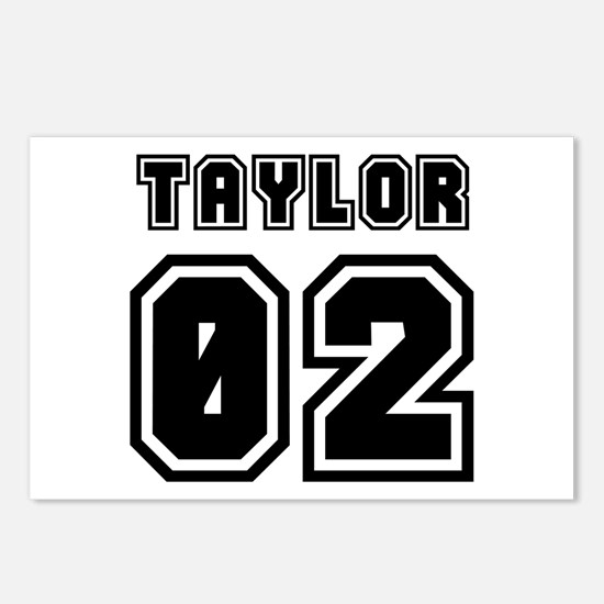 TAYLOR JERSEY 00 Postcards (Package of 8)