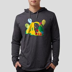 BirAnnNumbersA05 Mens Hooded Shirt