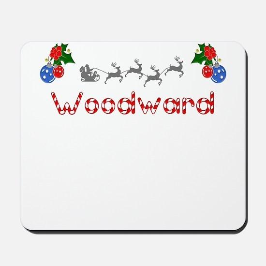Woodward, Christmas Mousepad