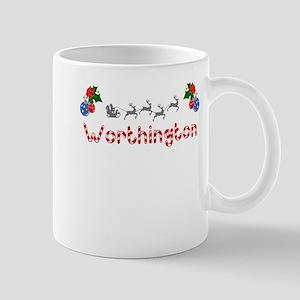 Worthington, Christmas Mug