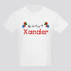 Xander, Christmas Kids Light T-Shirt