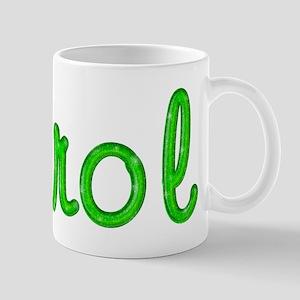 Carol Glitter Gel Mug