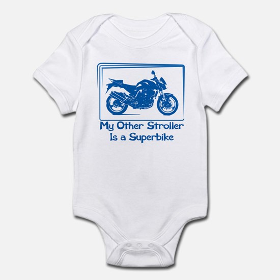 My other stroller is a superbike Body Suit