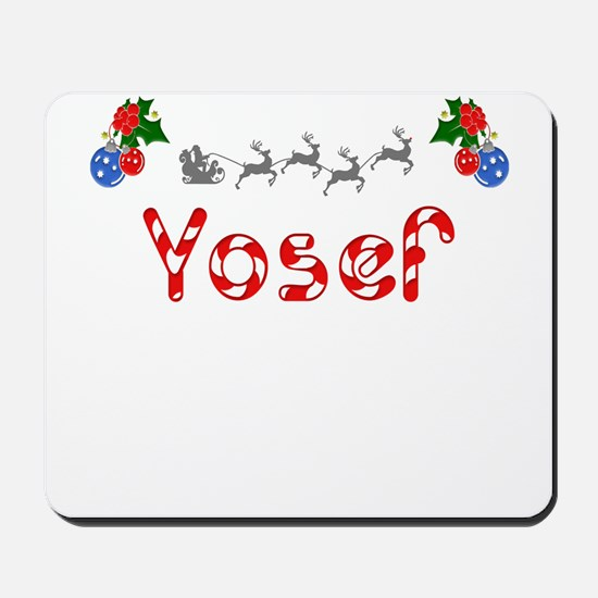 Yosef, Christmas Mousepad