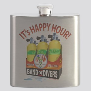 Scuba Happy Hour Flask
