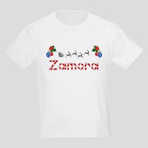 Zamora, Christmas Kids Light T-Shirt