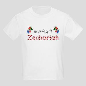 Zechariah, Christmas Kids Light T-Shirt
