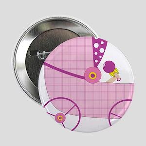 """Baby Stroller 2.25"""" Button"""