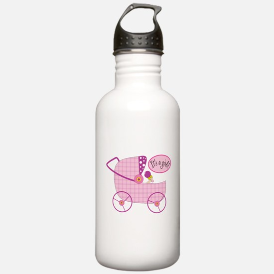 Its A Girl Water Bottle
