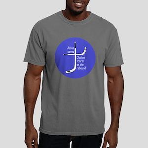 clayton_clock Mens Comfort Colors Shirt