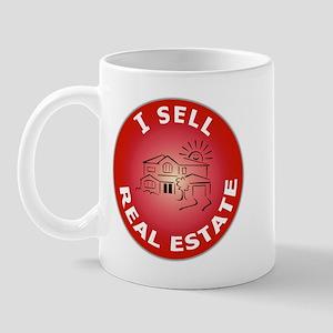 I SELL Real Estate Circle- Mug