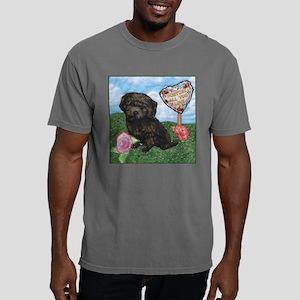 3-4_square-border Mens Comfort Colors Shirt