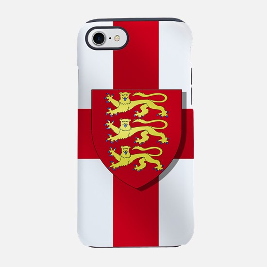 England Three Lions Flag iPhone 7 Tough Case