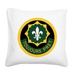 2nd ACR Square Canvas Pillow