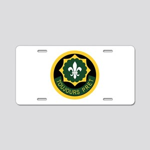 2nd ACR Aluminum License Plate