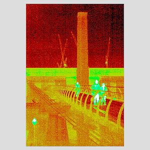 Tate Modern, UK, thermogram