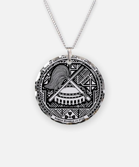 Seal of Territory of American Samoa Necklace