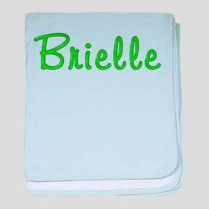 Brielle Glitter Gel baby blanket