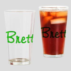 Brett Glitter Gel Drinking Glass