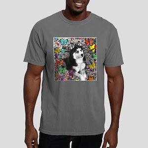 Irie the Siberian Husky  Mens Comfort Colors Shirt