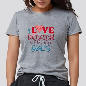 i-love-dancing-with-the-s Womens Tri-blend T-Shirt