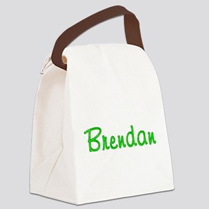 Brendan Glitter Gel Canvas Lunch Bag