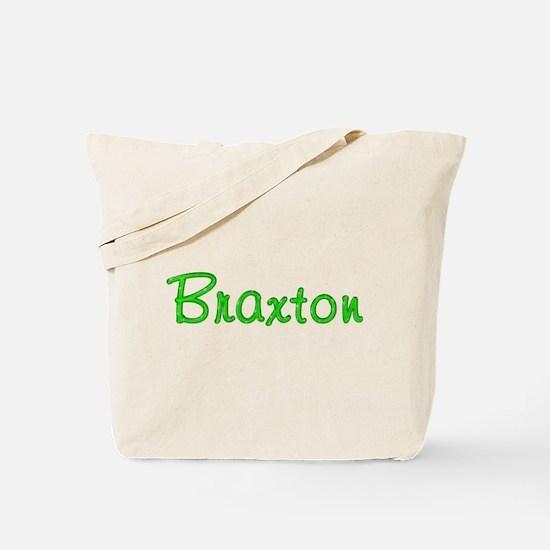 Braxton Glitter Gel Tote Bag