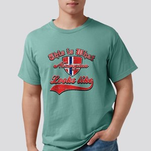 norwegian Mens Comfort Colors Shirt