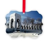 Wwii memorial Picture Frame Ornaments