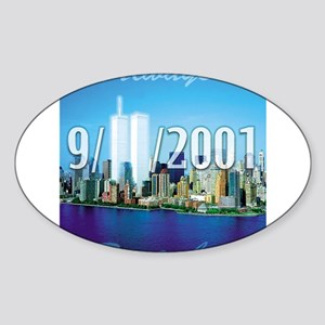 Always Remember 9/11 Rectangle Sticker