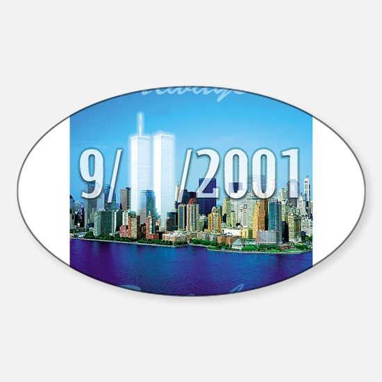 Always Remember 9/11 Rectangle Decal
