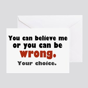 'Your Choice' Greeting Card