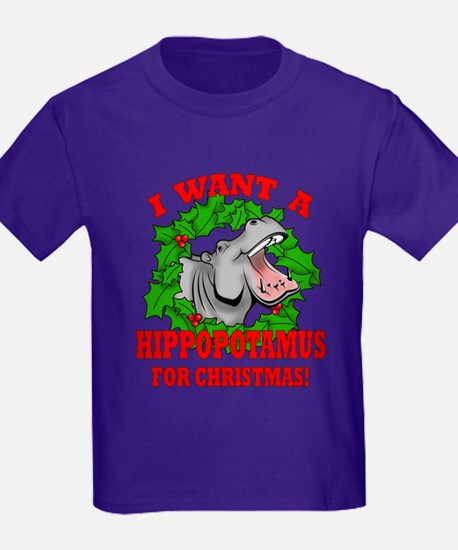 Hippopotamus for Christmas T