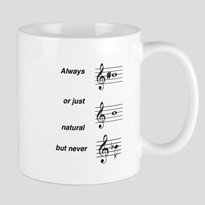 Always b Sharp Mug