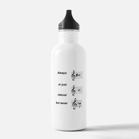 Always b Sharp Water Bottle
