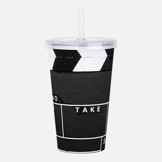 Movie Video production Acrylic Double-wall Tumbler