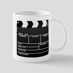 Movie Video production Clapper board version Mugs