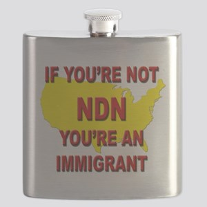 Immigration Flask