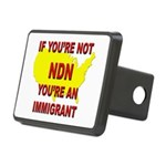 Immigration Rectangular Hitch Cover