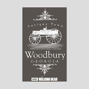 Walking Dead Woodbury Georgia Sticker