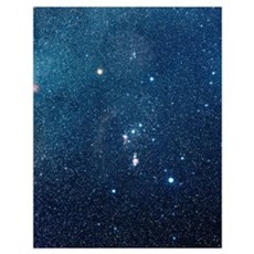 The constellation of Orion Poster
