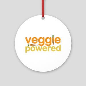 Veggie Powered Ornament (Round)