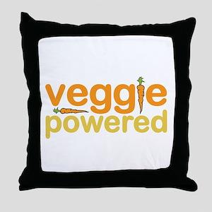 Veggie Powered Throw Pillow