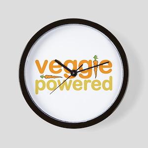 Veggie Powered Wall Clock