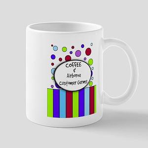 coffee and airborne customer germs Mug